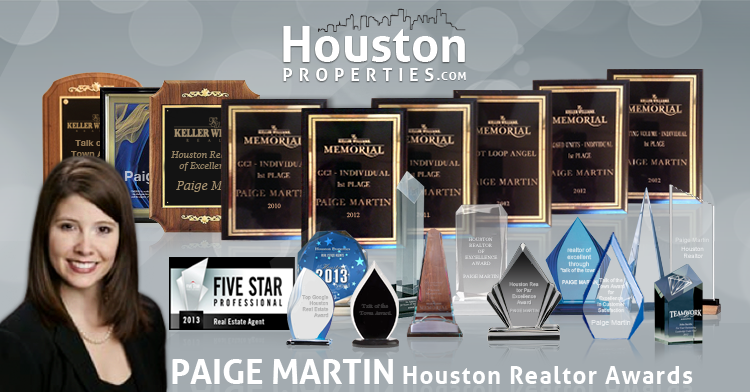 best houston realtor awards