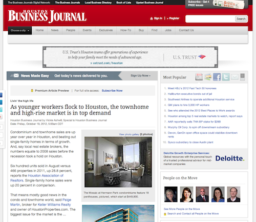 Paige Martin Houston Business Journal