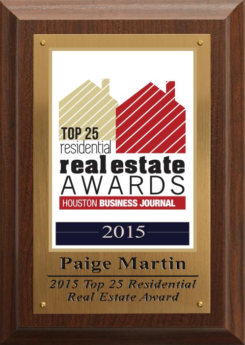 Top 25 Realtors in Houston, Houston Business Journal