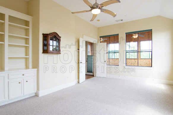 houston townhome living room