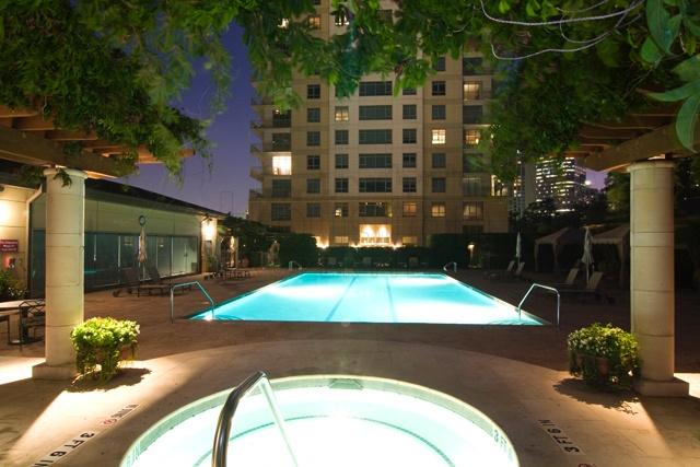Montebello Houston swimming pool