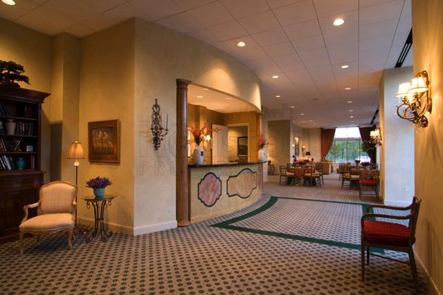 Montebello Houston lobby area