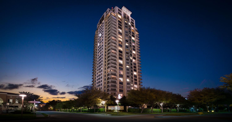 Montebello Houston At Night