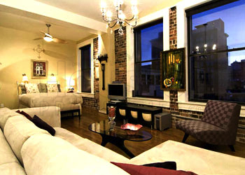 Houston condo for sale living room