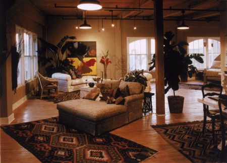 dakota lofts living room