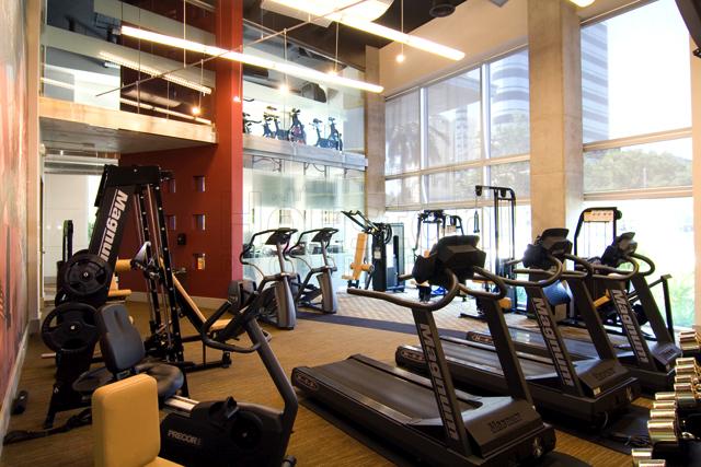 Lofts on Post Oak gym