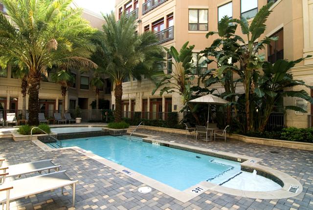 Houston Lofts on Post Oak Pool