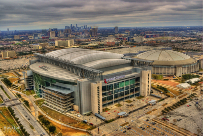 Reliant Stadium In Kirby Drive