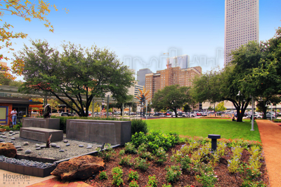 Downtown Houston Park