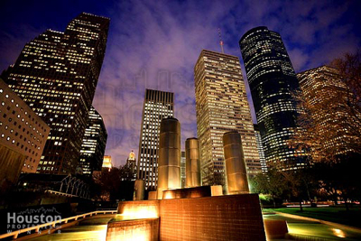 Tranquility Park in Downtown Houston