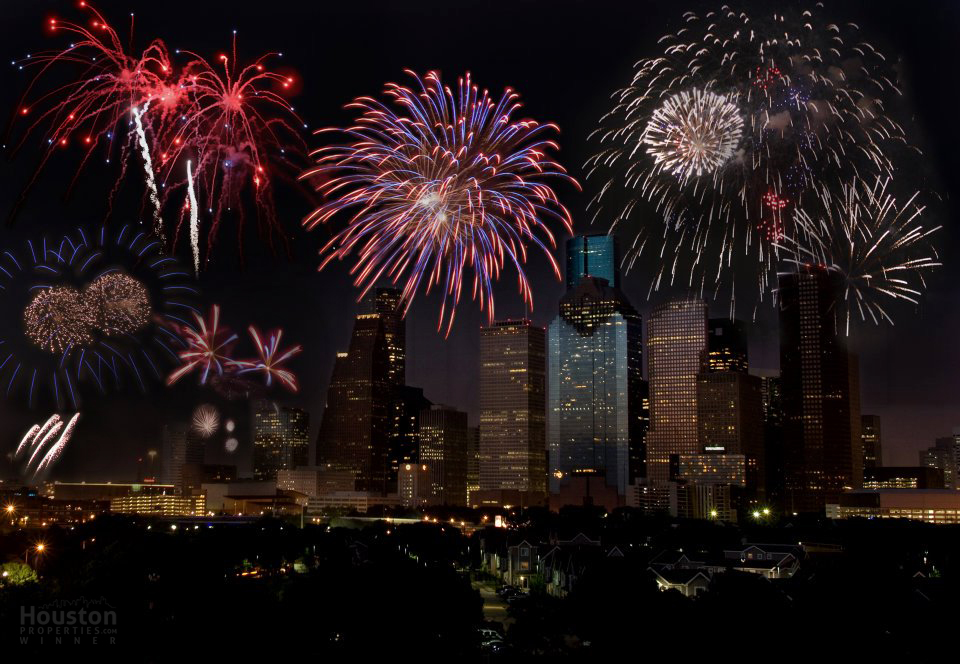 Houston New Years Eve Fireworks