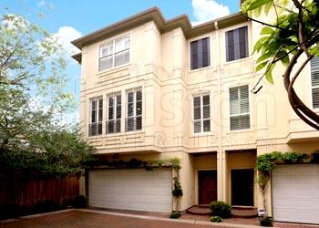 Houston luxury townhomes for sale neighborhood profile by for Luxury townhomes for sale