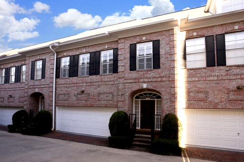 medical center houston townhome