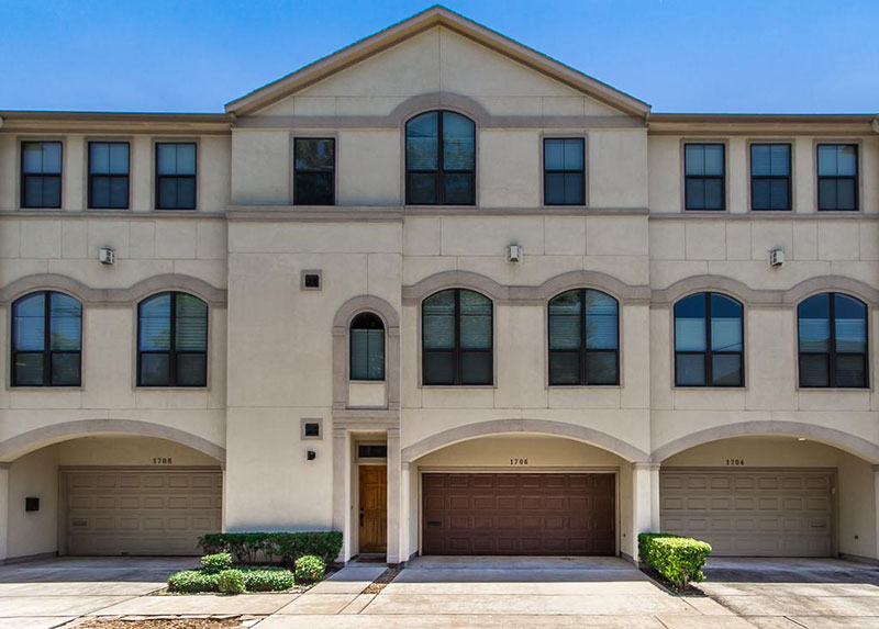 Multi-level living has become quite popular in the neighborhoods  surrounding Memorial Park, especially Camp Logan and Rice Military.
