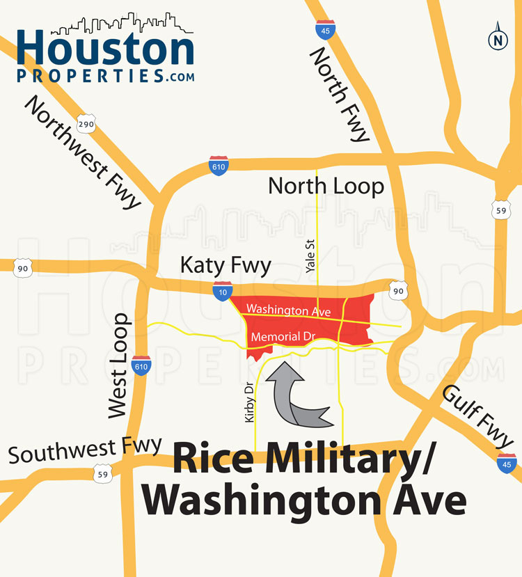 Rice Military Location