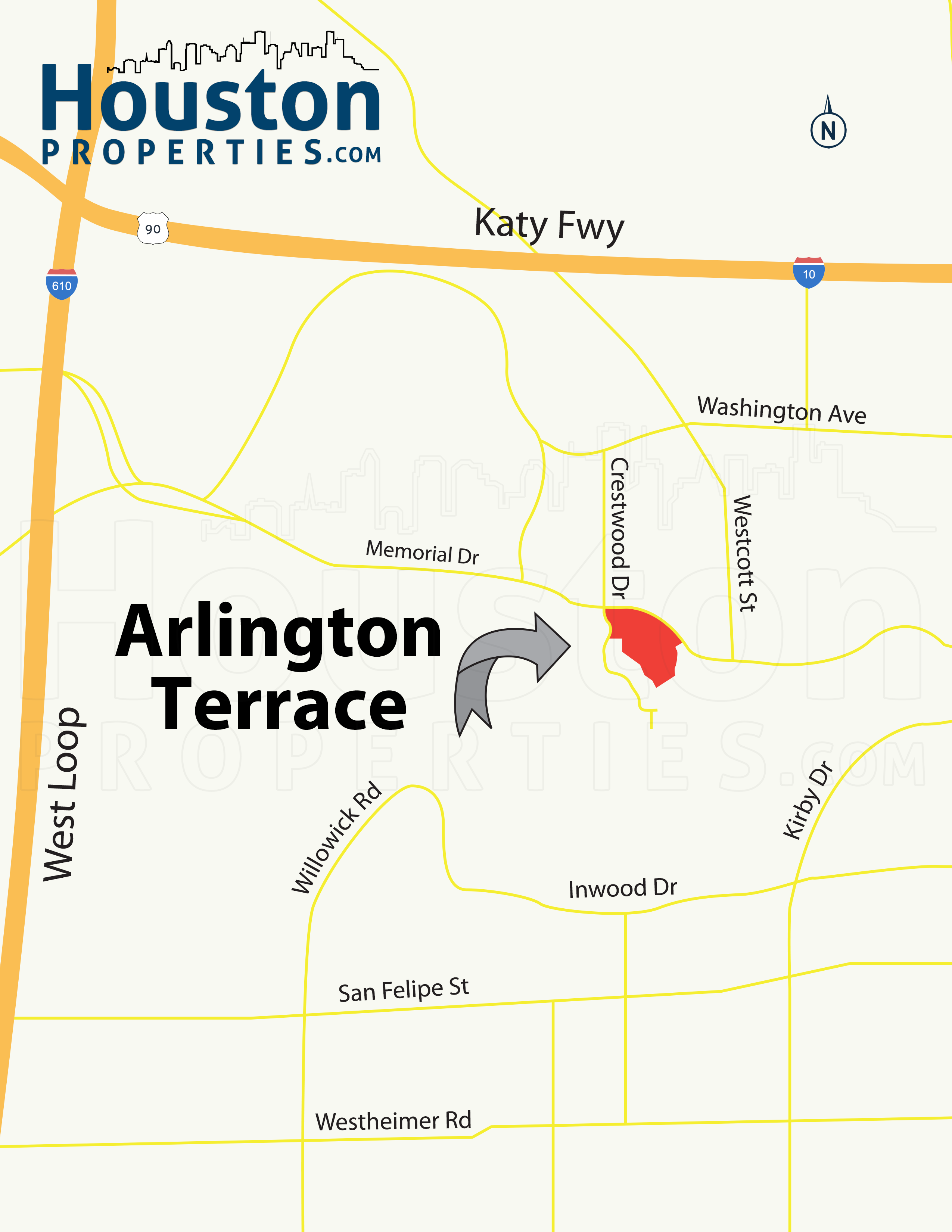 Arlington Terrace Location