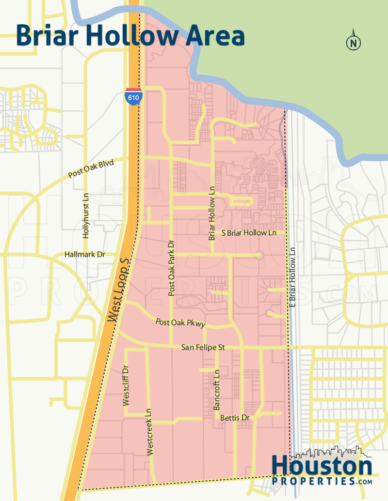 Briar Hollow Neighborhood Map