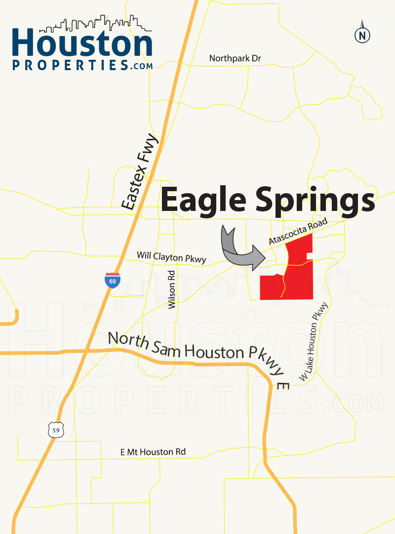 Eagle Springs Humble TX | Eagle Springs Homes For Sale on city of atascocita tx, map of sheldon ia, map of 77346, map atascocita 1960, map of kingwood neighborhoods, map kingwood humble, map of texas parks, map hockley tx, map of southern states including texas, map of west texas, map kingwood atascocita,