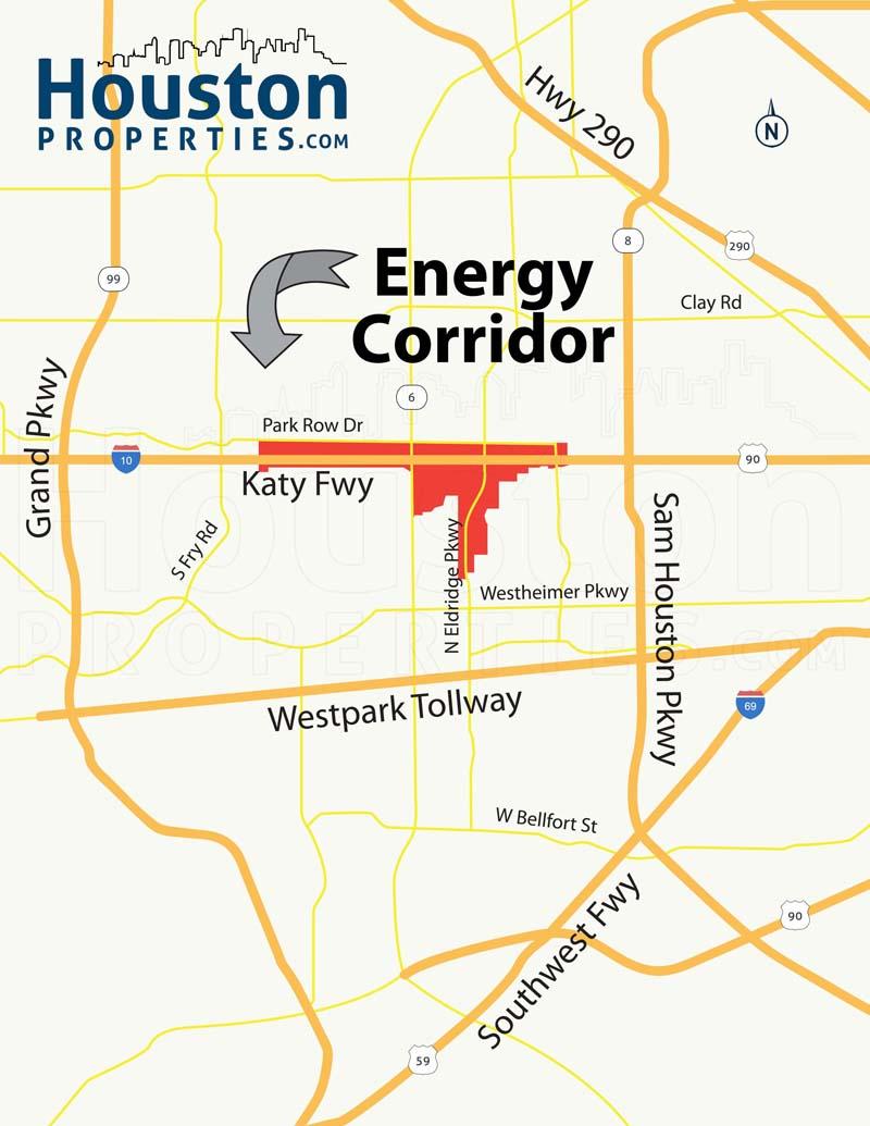 Energy corridor houston homes and neighborhood guide for Country plans com