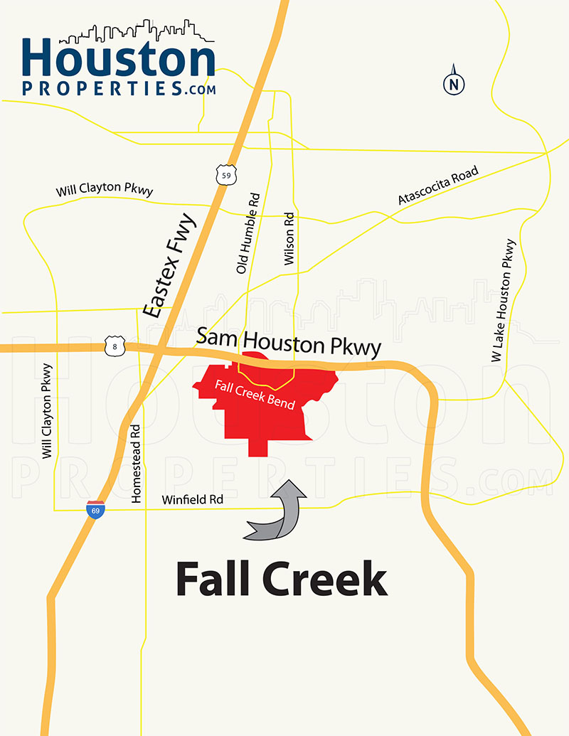 Fall Creek Location