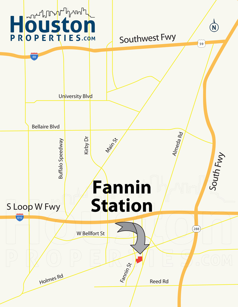 fannin station Houston Location
