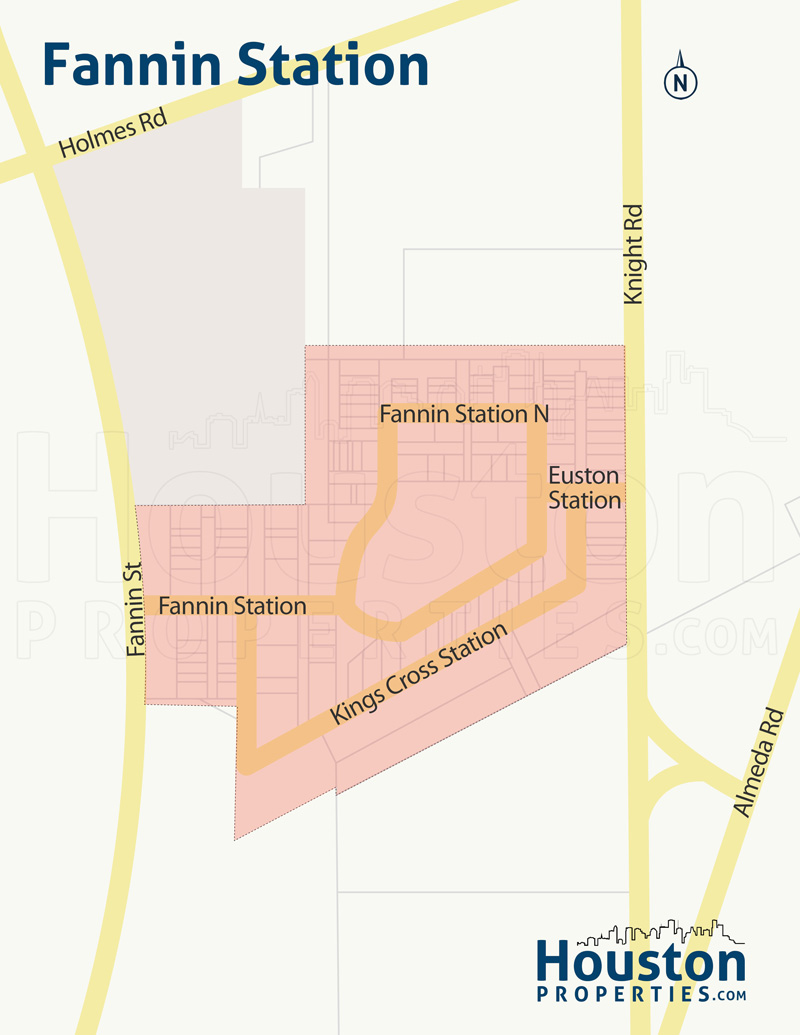 fannin station neighborhood map
