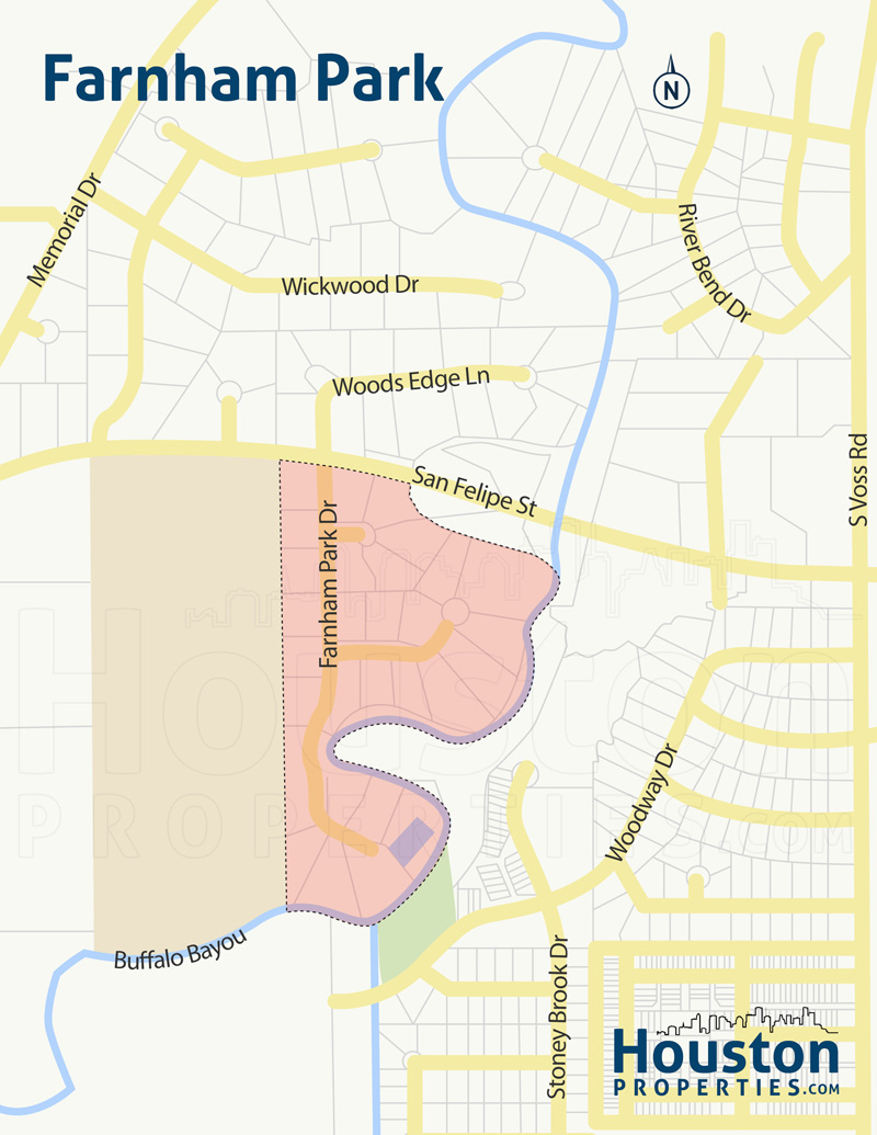 Farnham Park Neighborhood Map