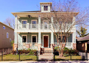 Houston Heights: Newly constructed home for sale