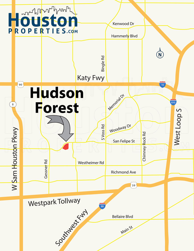 Hudson Forest Location