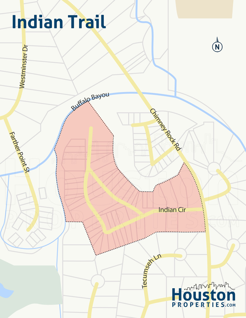 indian trail neighborhood map