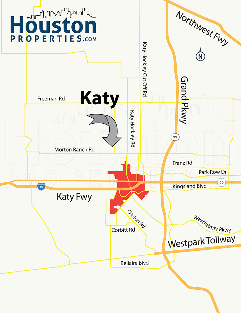 Katy TX Location