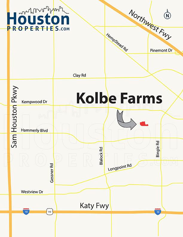 Kolbe Farms houston map