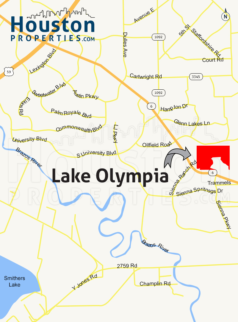 Lake Olympia Houston | Lake Olympia Homes For Sale