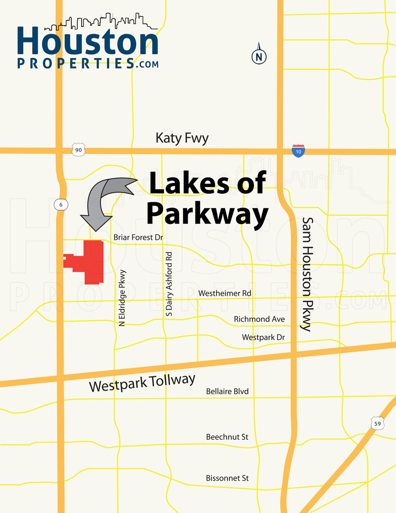 Lakes of Parkway Location