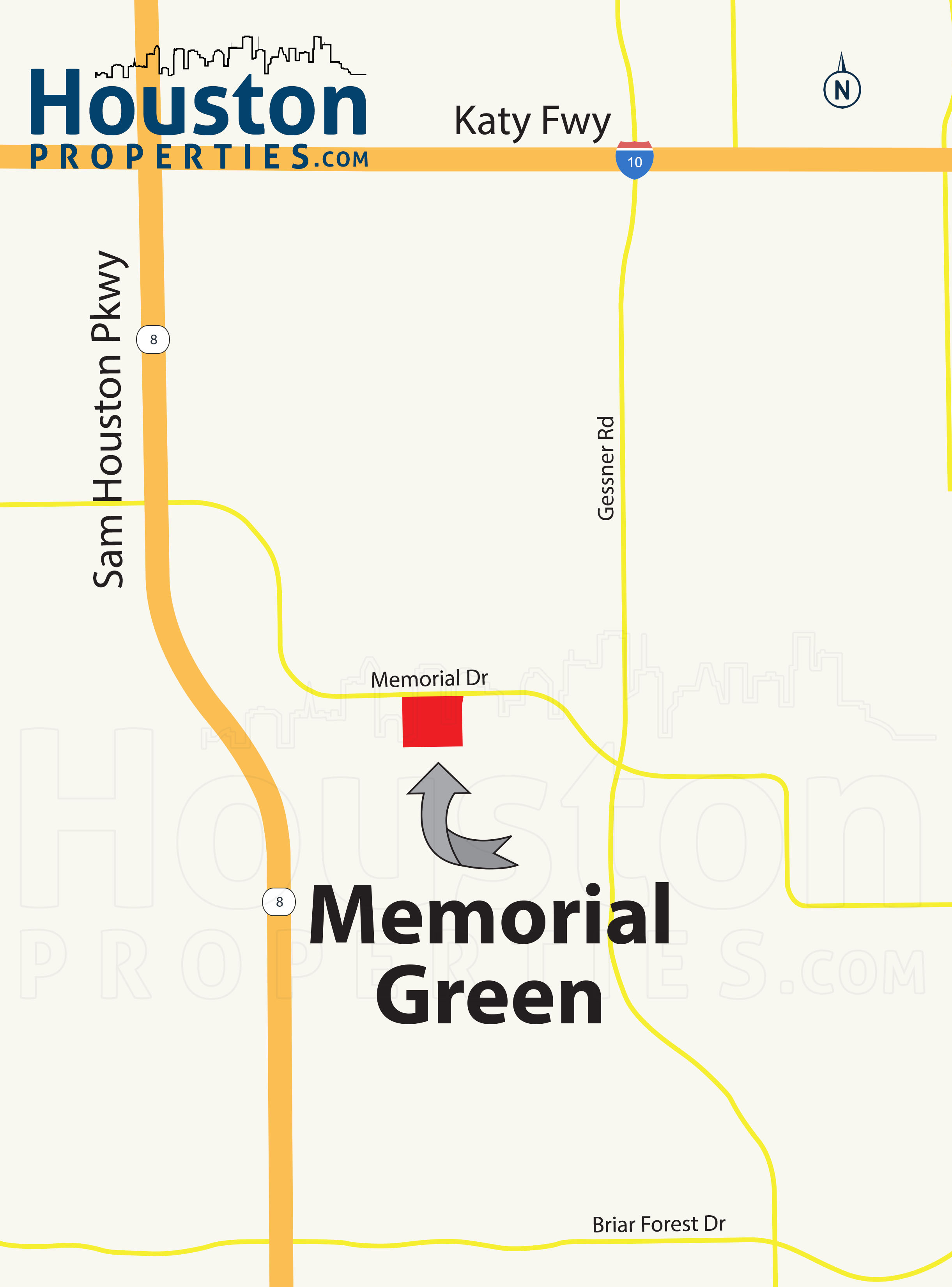 Memorial Green Location