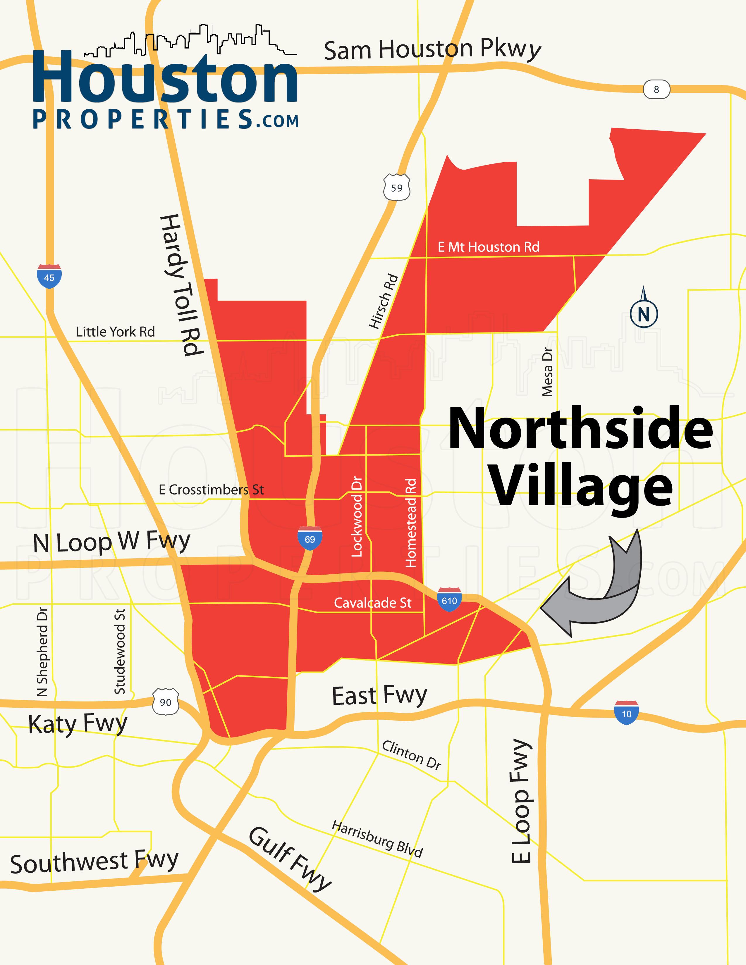 Northside Village Houston   Northside Village Homes For Sale