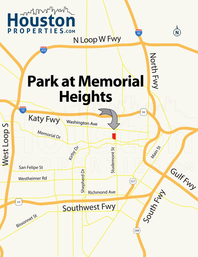 Zip Code Map Houston Heights Heights Houston Map