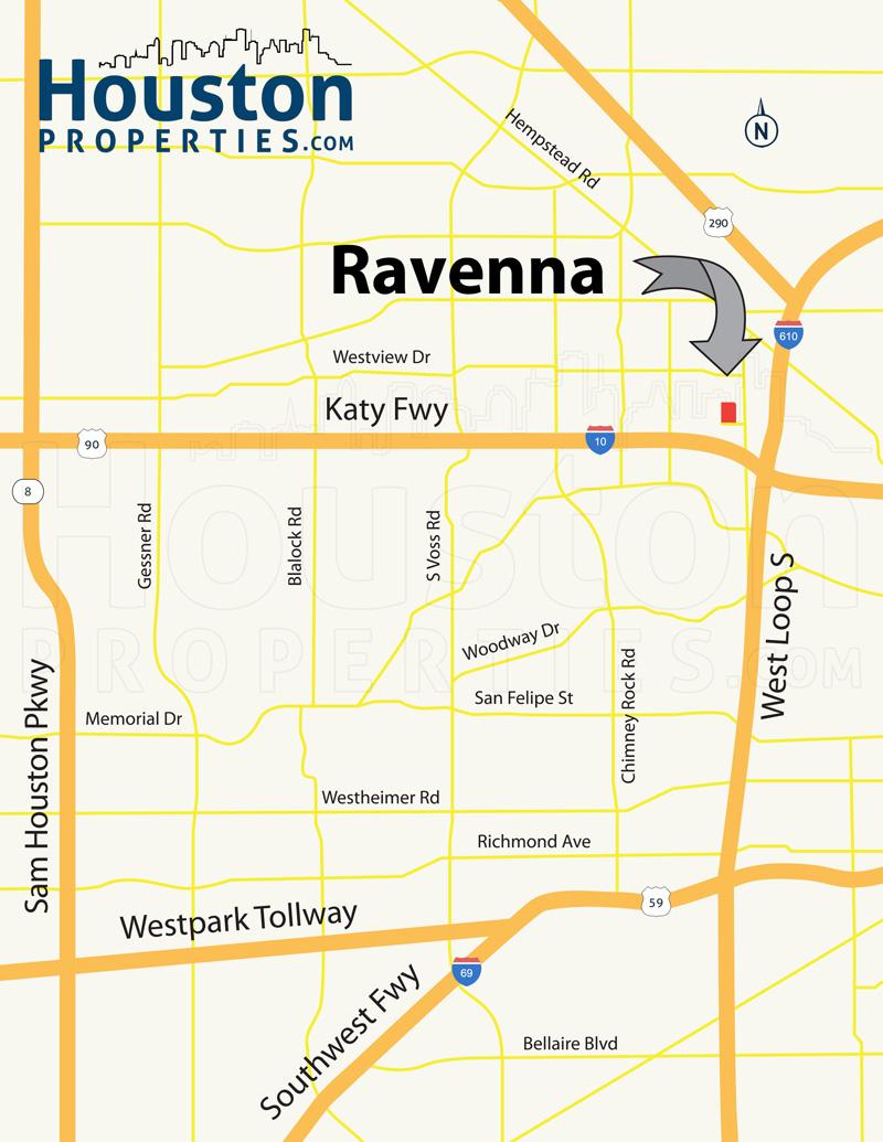 Ravenna Spring Branch Map