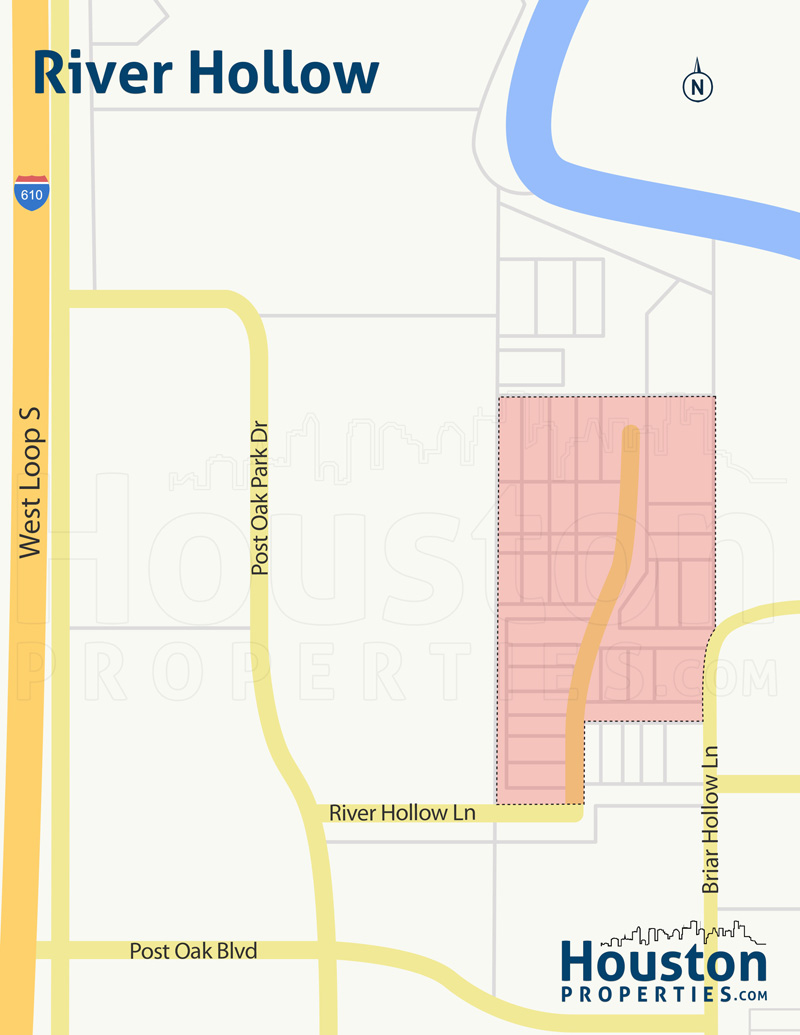 River Hollow Neighborhood Map
