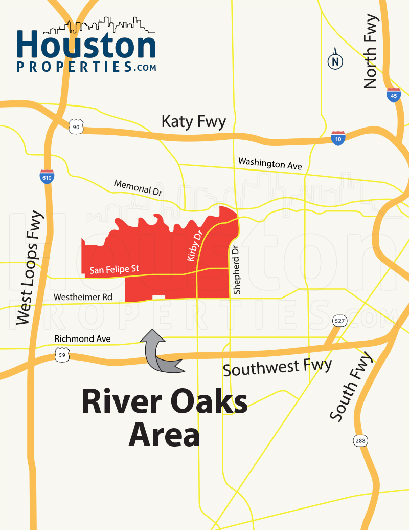 2019 Update River Oaks Houston Map Two New River Oaks