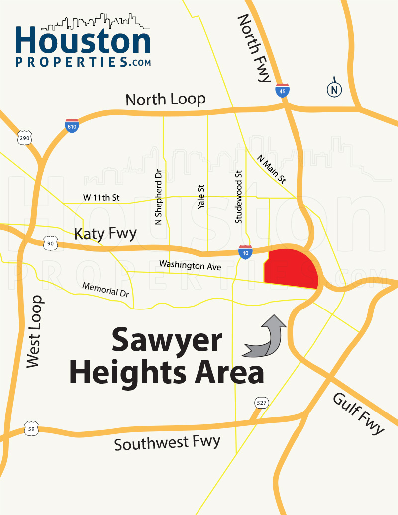 Sawyer Heights Houston Neighborhood Guide Maps Homes