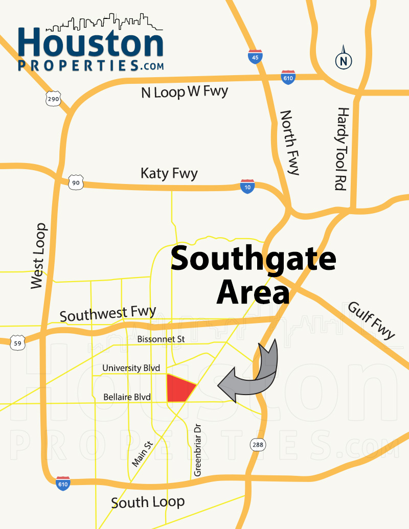 Southgate Houston Maps | Southgate TX Neighborhood Maps