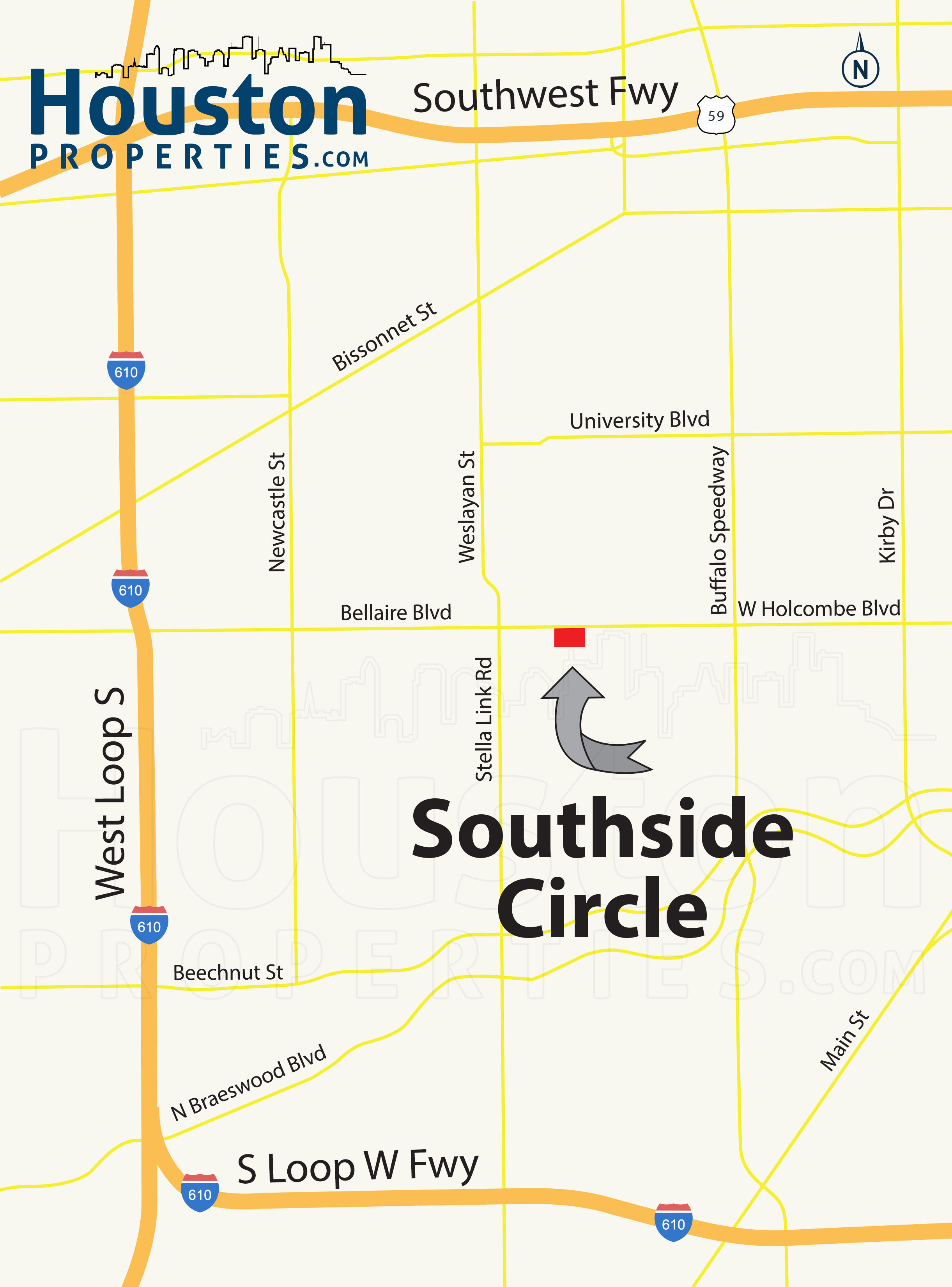 Southside Circle Location