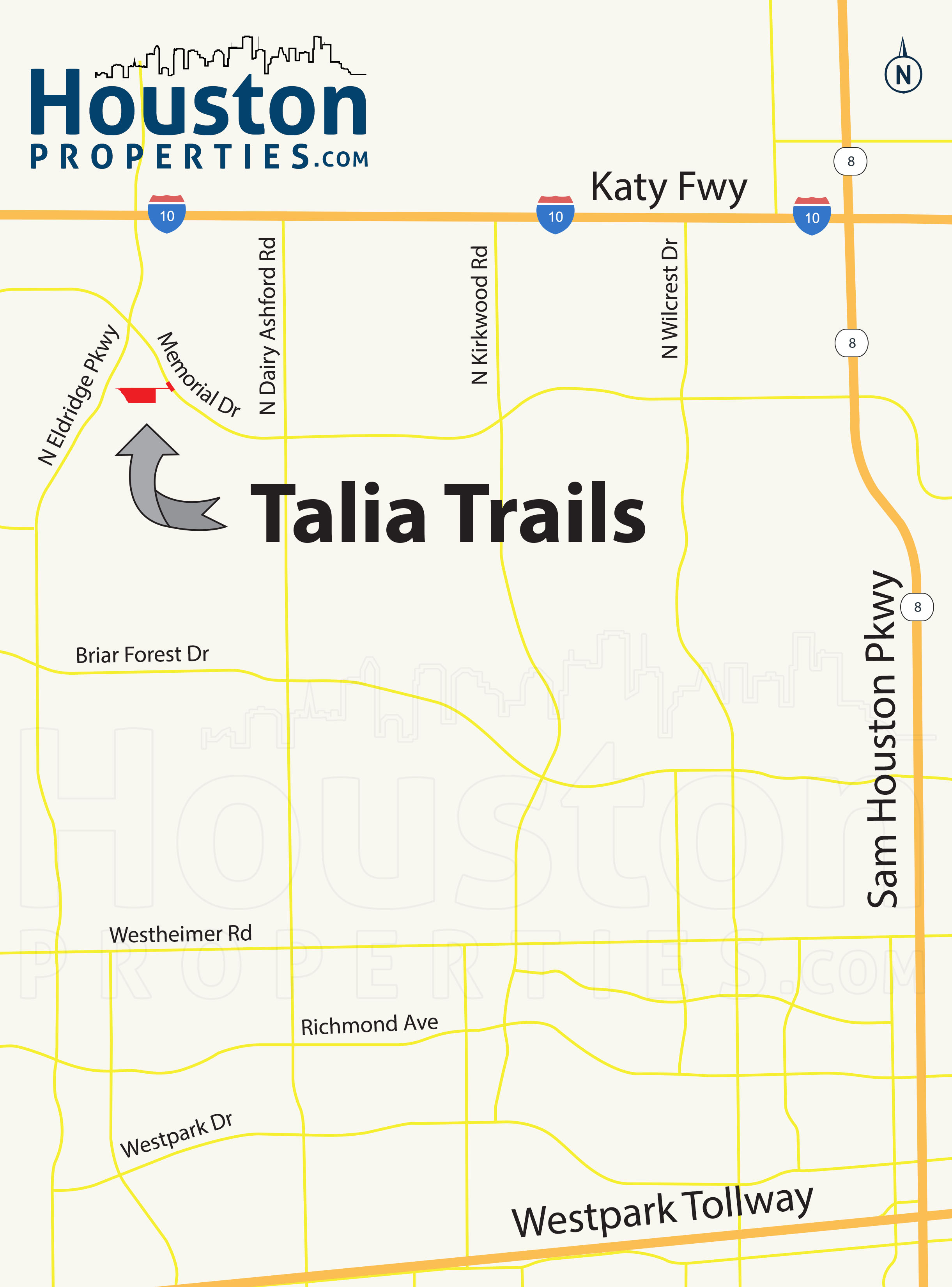 Talia Trails Location