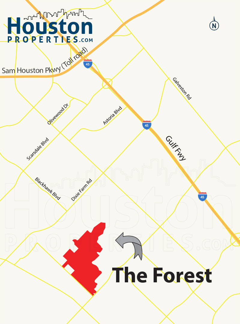 The Forest Of Friendswood | The Forest Homes For Sale