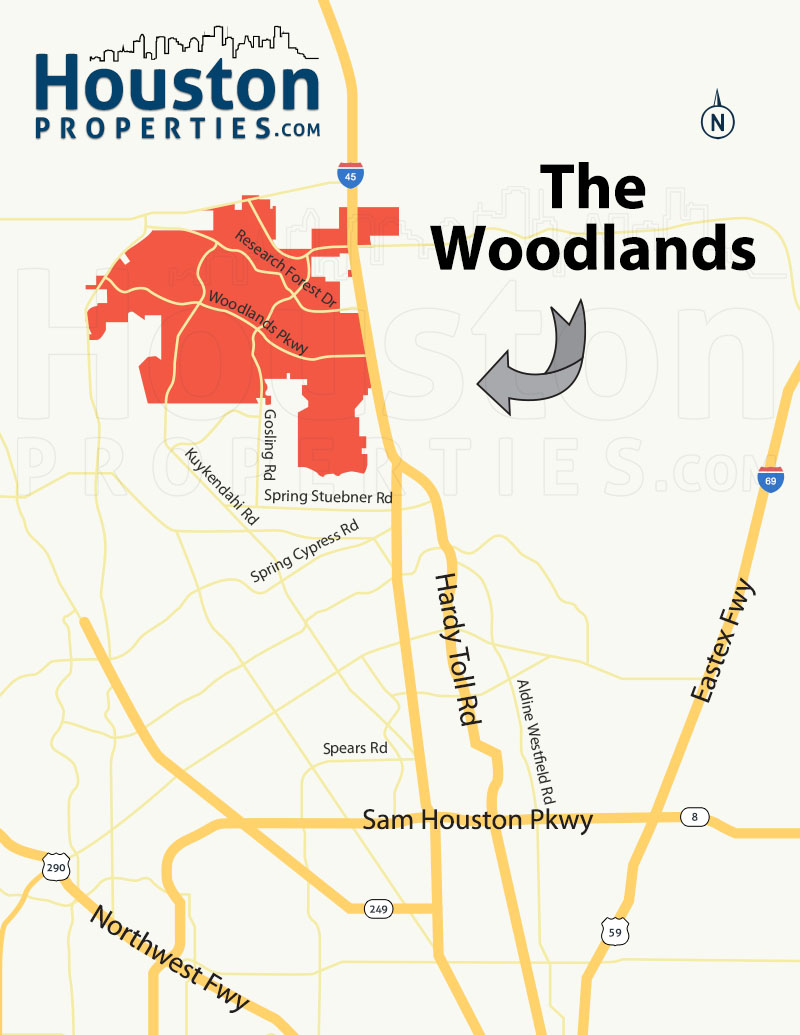 The Woodlands Location