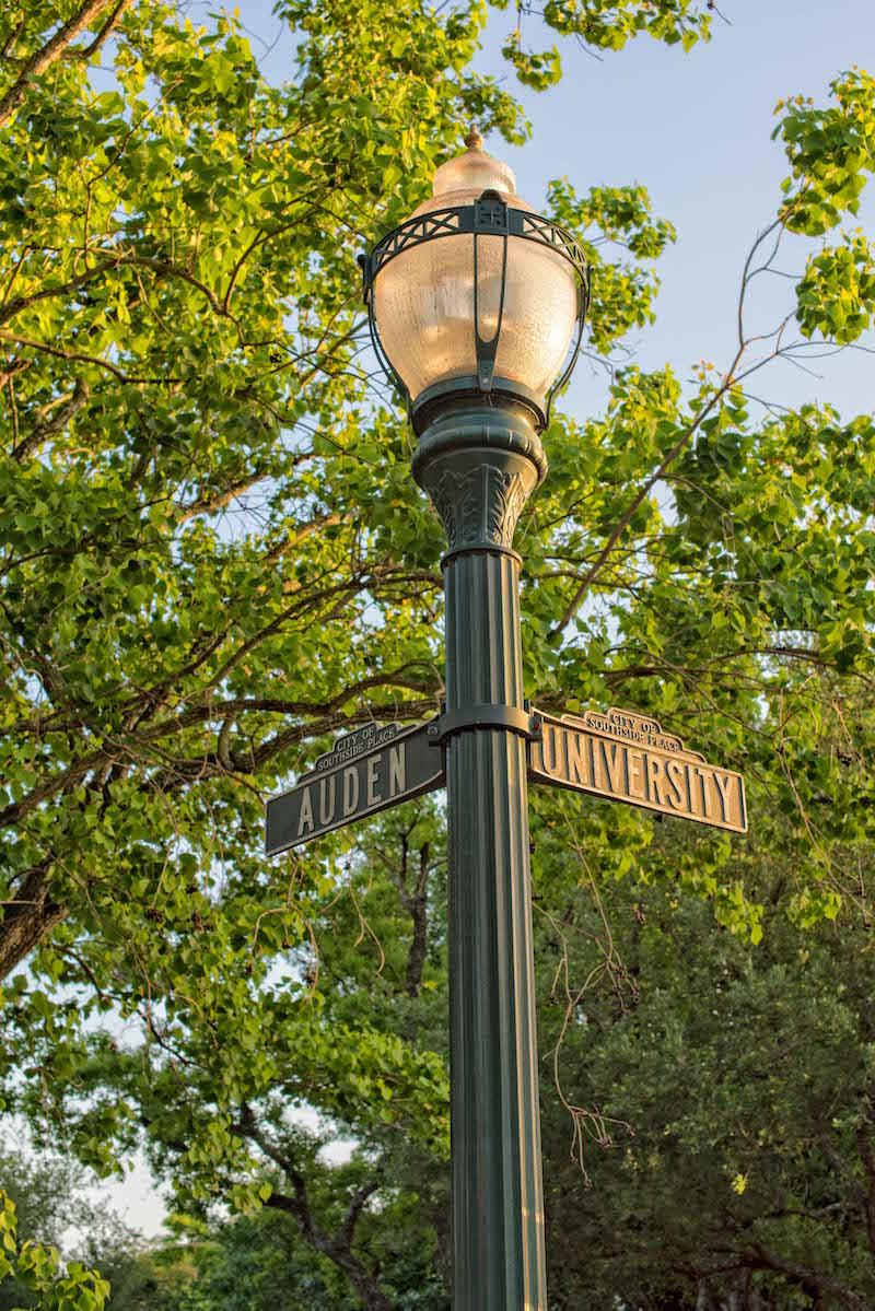 West University Sign