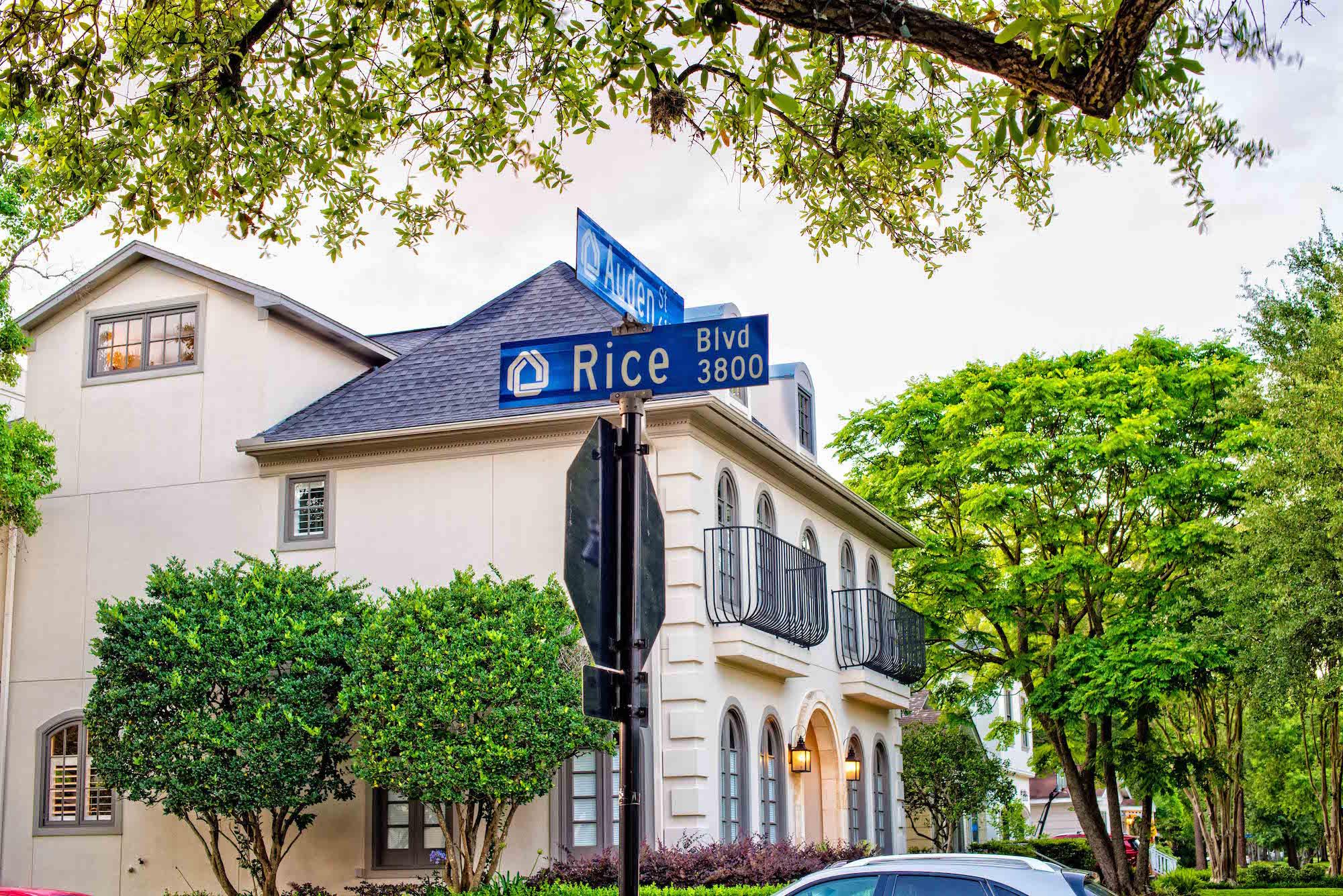 Rice Blvd in West U