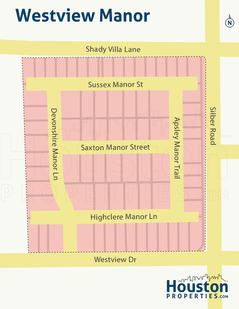 Westview Manor neighborhood map