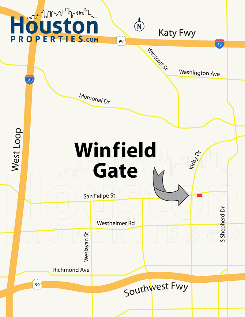 Winfield Gate Location